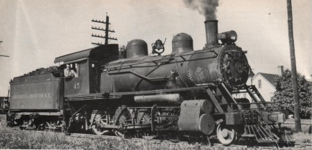 A&R #45 Steam Locomotive