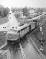 Raeford-Westbound Local Under 401 By-Pass  4-29-63